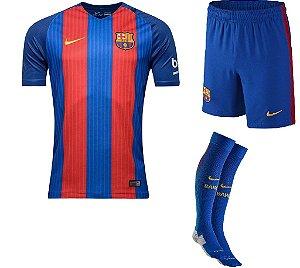 Kit adulto oficial Nike Barcelona 2016 2017 I jogador
