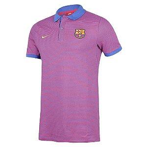 Camisa Polo oficial Nike  Barcelona 2016 2017 rosa