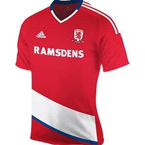 Camisa oficial Adidas Middlesbrough FC 2016 2017 I jogador