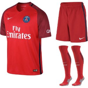 Kit adulto oficial Nike PSG 2016 2017 II jogador