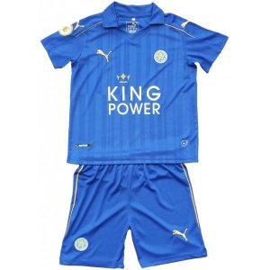 Kit oficial infantil Puma Leicester City 2016 2017 I jogador
