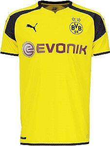 Camisa oficial Puma Borussia Dortmund 2016 2017 edição Champions League