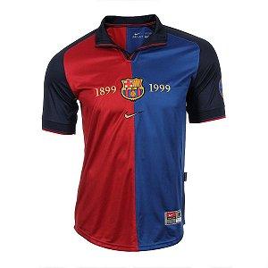 Camisa Nike Retro Barcelona centenário 1999