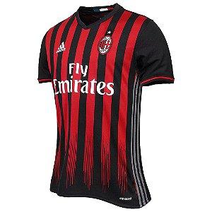 Camisa oficial Adidas Milan 2016 2017 I jogador pronta entrega