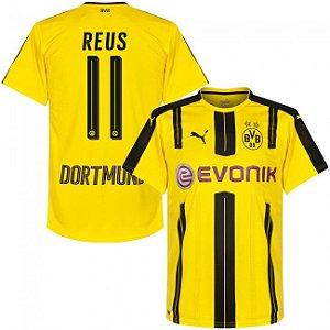 Camisa oficial Puma Borussia Dortmund 2016 2017 11 Reus