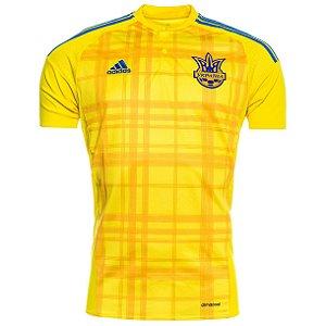 camisa oficial adidas seleção da Ucrania Euro 2016 I jogador pronta entrega