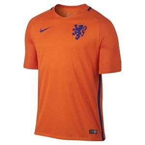 Camisa oficial Nike seleção da Holanda Euro 2016 I jogador Pronta entrega