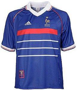 Camisa Adidas retro Seleção da França Copa do mundo 1998