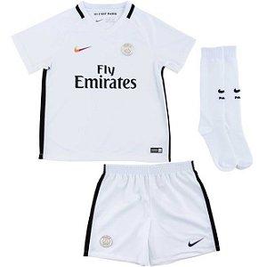 Kit oficial infantil Nike PSG 2016 2017 III jogador