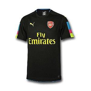 Camisa oficial Puma Arsenal 2016 2017 I Goleiro