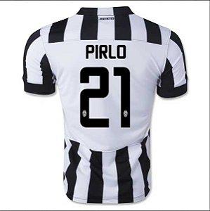 Camisa oficial Nike Juventus 2014 2015 I jogador 21 Pirlo pronta entrega
