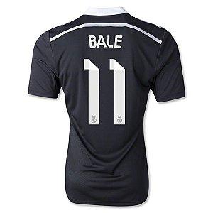 camisa oficial adidas Real Madrid 2014 2015 III jogador 11 Bale Pronta entrega