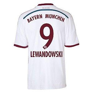 Camisa oficial Adidas Bayern de Munique 2014 2015 III 9  Lewandowski pronta entrega