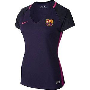 Camisa feminina oficial Nike Barcelona 2016 2017 II