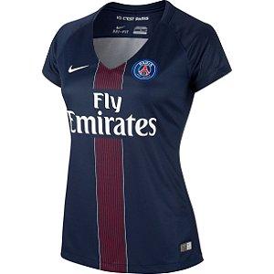 Camisa feminina oficial Nike PSG 2016 2017 I
