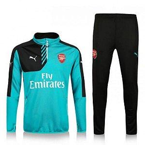 kit oficial treinamento Puma Arsenal 2016 2017 azul