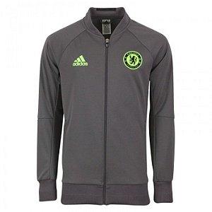 Jaqueta oficial Adidas Chelsea 2016 2017 cinza