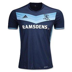 Camisa oficial Adidas Middlesbrough FC 2016 2017 II jogador