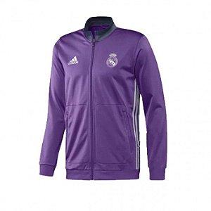 Jaqueta oficial Adidas Real Madrid 2016 2017 rosa