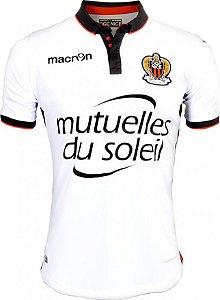Camisa oficial Macron  OGC Nice 2016 2017 II jogador