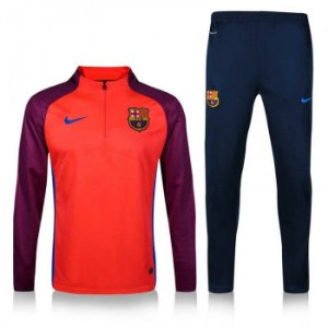 Kit treinamento oficial Nike Barcelona 2016 2017 vermelha