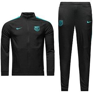 Kit treinamento oficial Nike Barcelona 2016 2017 Preto