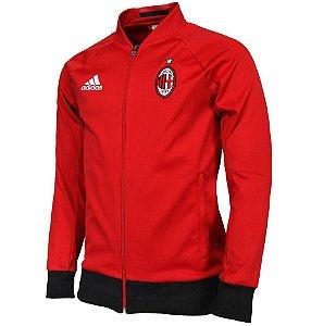 Jaqueta oficial Adidas Milan 2016 2017 Vermelha