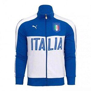 Jaqueta oficial Puma seleção da Italia Euro 2016 Azul