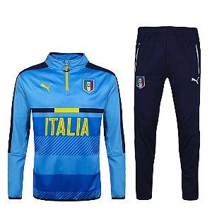 kit oficial treinamento Puma seleção da Italia Euro 2016
