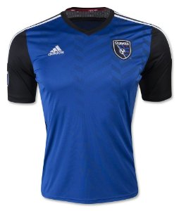 Camisa oficial Adidas San Jose Earthquakes 2016 2017 I jogador
