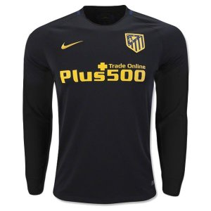 Camisa oficial Nike Atletico de Madrid 2016 2017 II jogador manga comprida