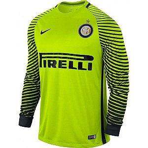 Camisa oficial Nike Inter de Milão 2016 2017 I Goleiro