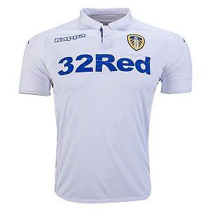 Camisa oficial Kappa Leeds United 2016 2017 I jogador
