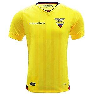Camisa oficial Marathon Seleção do Equador 2016 I jogador
