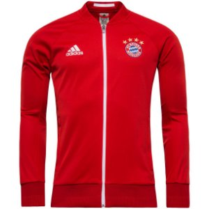 Jaqueta oficial Adidas Bayern de Munique 2016 2017 Vermelha