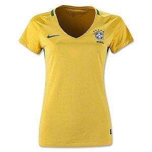 Camisa Feminina oficial Nike seleção do Brasil 2016 I
