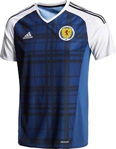 Camisa oficial Adidas seleção da Escócia Euro 2016 I jogador