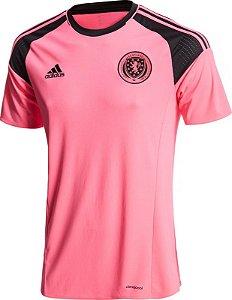 Camisa oficial Adidas seleção da Escócia Euro 2016 II jogador