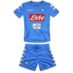 Kit infantil oficial Kappa Napoli 2016 2017 I jogador