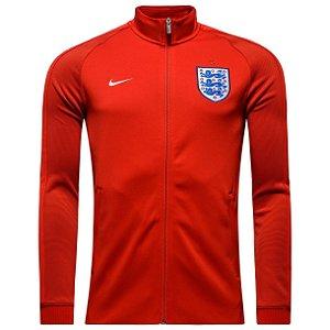 Jaqueta  oficial Nike seleção da Inglaterra Euro 2016 Vermelha