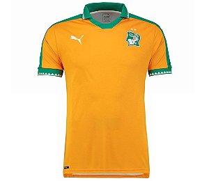 Camisa oficial Puma seleção da Costa do Marfim 2017 I jogador
