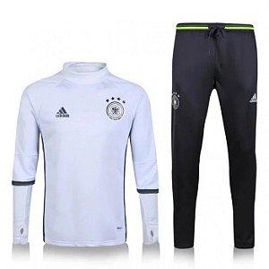 Kit treinamento oficial Adidas seleção da Alemanha 2016 Branco