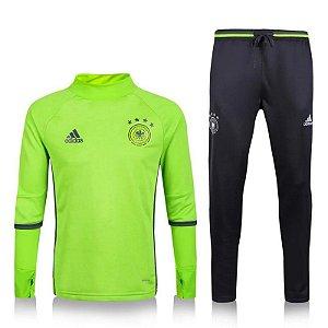 Kit treinamento oficial Adidas seleção da Alemanha 2016 verde