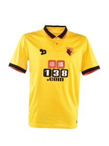 Camisa oficial Dryworld Watford 2016 2017 I jogador