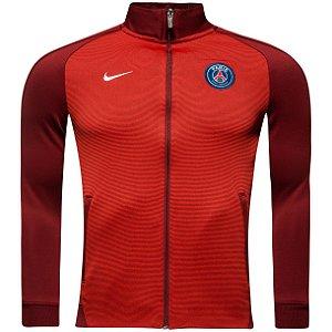 Jaqueta oficial Nike PSG 2016 2017 vermelha