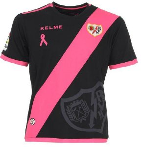 Camisa oficial Kelme Rayo Vallecano 2016 2017 II jogador