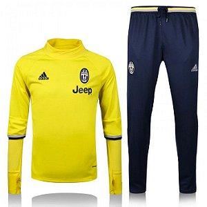 Kit treinamento oficial  Adidas  Juventus 2016 2017 amarelo