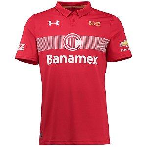 Camisa oficial Under Armour Toluca 2016 2017 I jogador