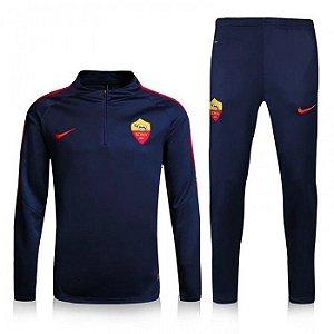 Kit treinamento oficial Nike Roma 2016 2017 Azul