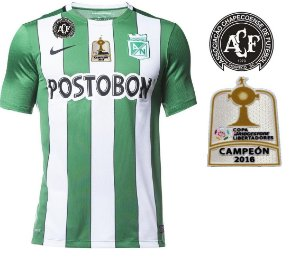Camisa oficial Nike Atlético Nacional de Medellin 2016 I jogador ESPECIAL